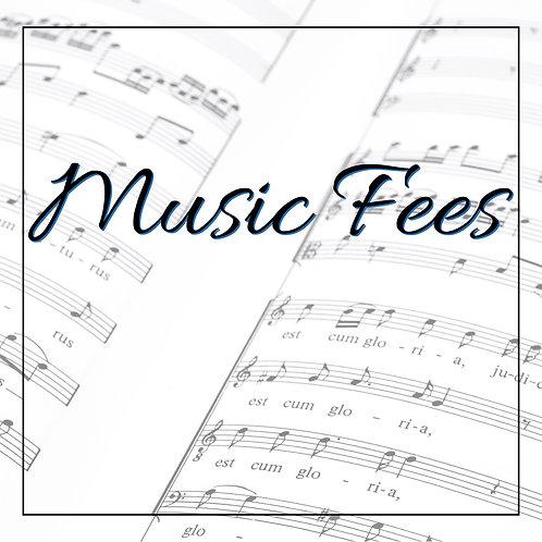 Music Fees