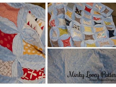 Minky Lovey - Free Pattern