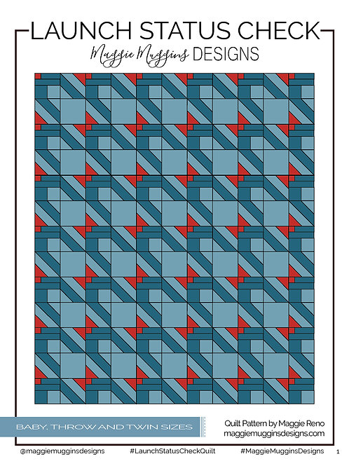 Launch Status Check PDF Quilt Pattern