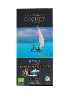 Bio Extra Zartbitterschokolade Meersalz 100g