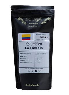 Kaffebohnen Kolumbien La Isabela 250g