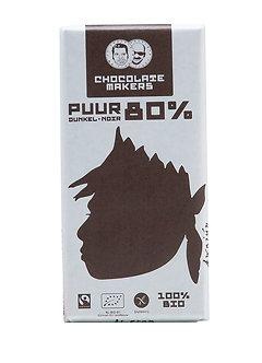 Zarbitterschokolade 80% 85 g