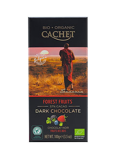 Bio Zartbitterschokolade Waldfrucht 100g