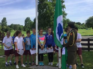 Flag Raising Photos - 20th June