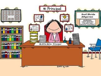 Principal for the Day - Ellie Melia