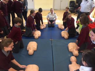 CPR Training October 2017