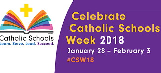 Catholic Schools Week: 29th -