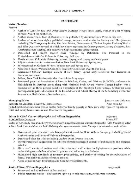 Resumes And CVs For MPH Students Fall Nmctoastmasters Resume And  Publications  Cvs Resume Paper