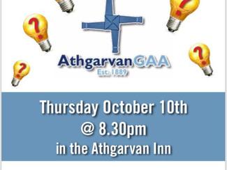 Athgarvan GAA Pub Quiz