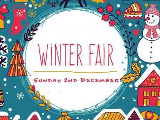Winter Fair 2018 - Sunday 2nd December