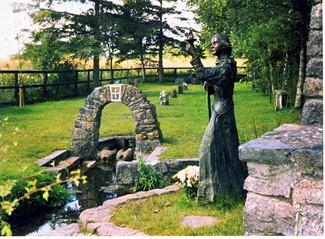 St Brigid's Well, Kildare -   Friday  1st February