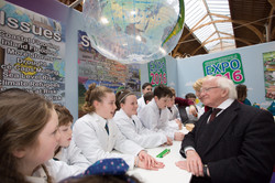 President_HIggins_Green_School_Expo_RDS