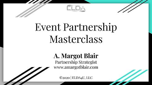 Event Partnership Masterclass (Live) LEA