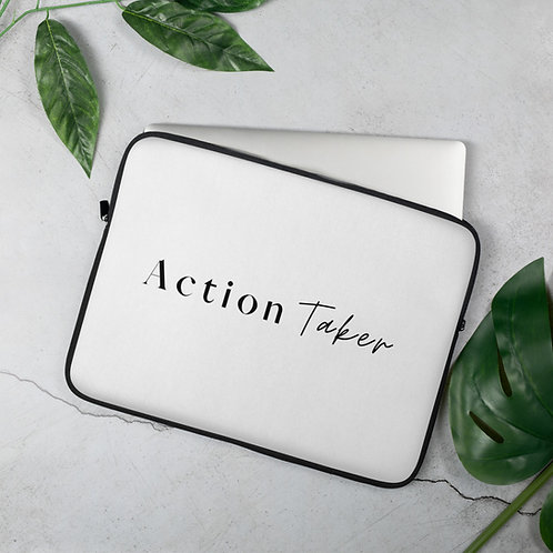 """Action Taker"" Laptop Sleeve"