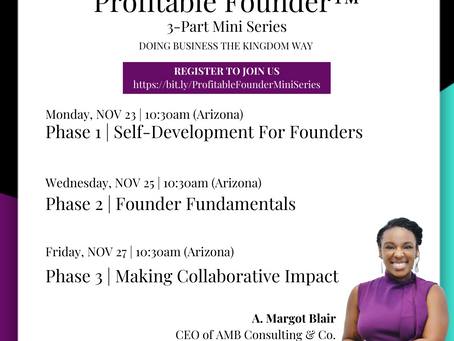 Profitable Founder™️ Mini Series | JOIN US!