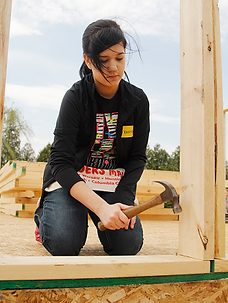 Volunteer at Habitat