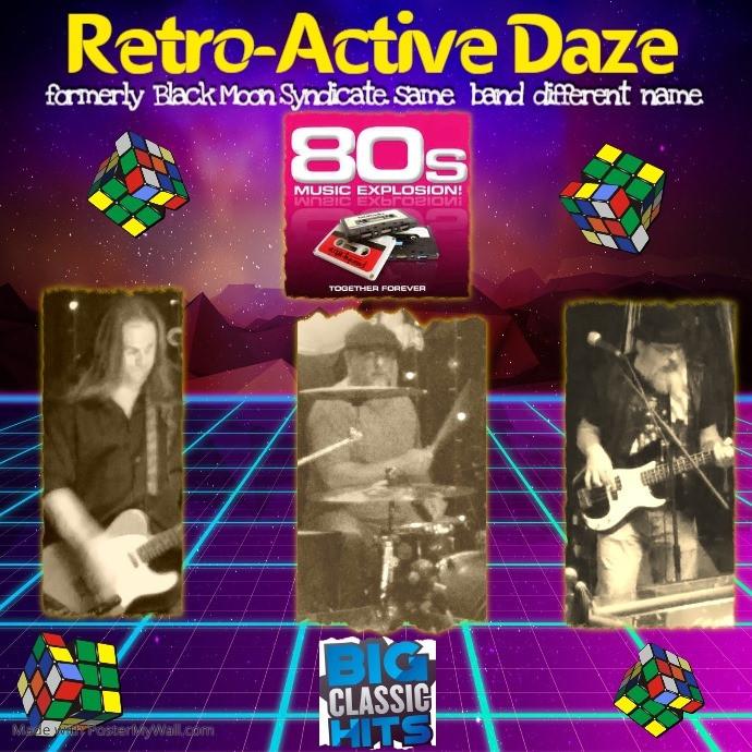 Live Music! Retro-Active Daze