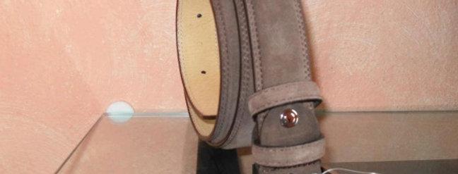 Cintura in camosciorealizzataa mano su misura in Italia