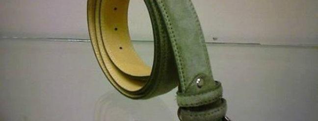 Cintura in camoscio realizzata a mano su misura in Italia
