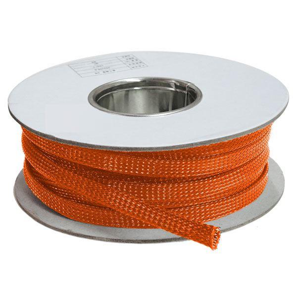 rolo malha expansivel laranja termotubos