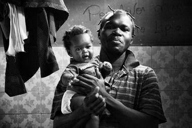 homem haitiano em brasileia