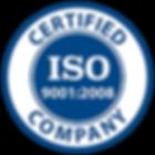 ISO 9001 Certified | ISO 9001 Sertifikalı
