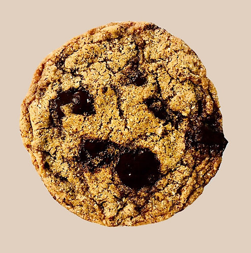 tahini chocolate chip cookie   10/order