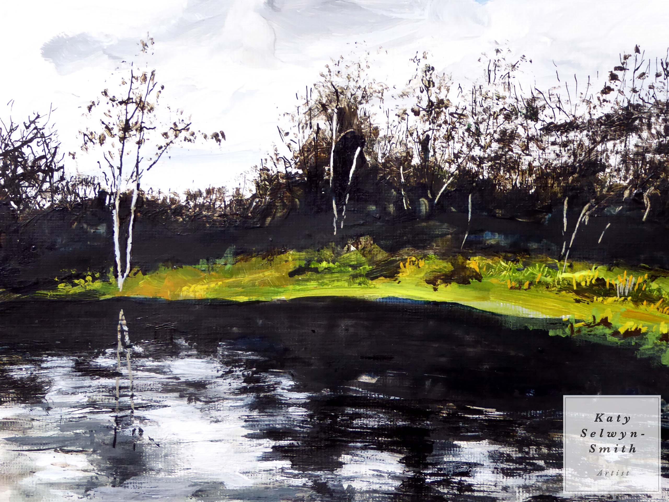 Winter Lardy Pond
