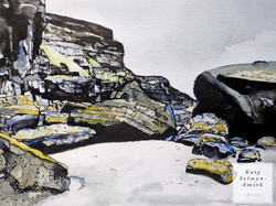 Tides Out at Druidstone (Sold)