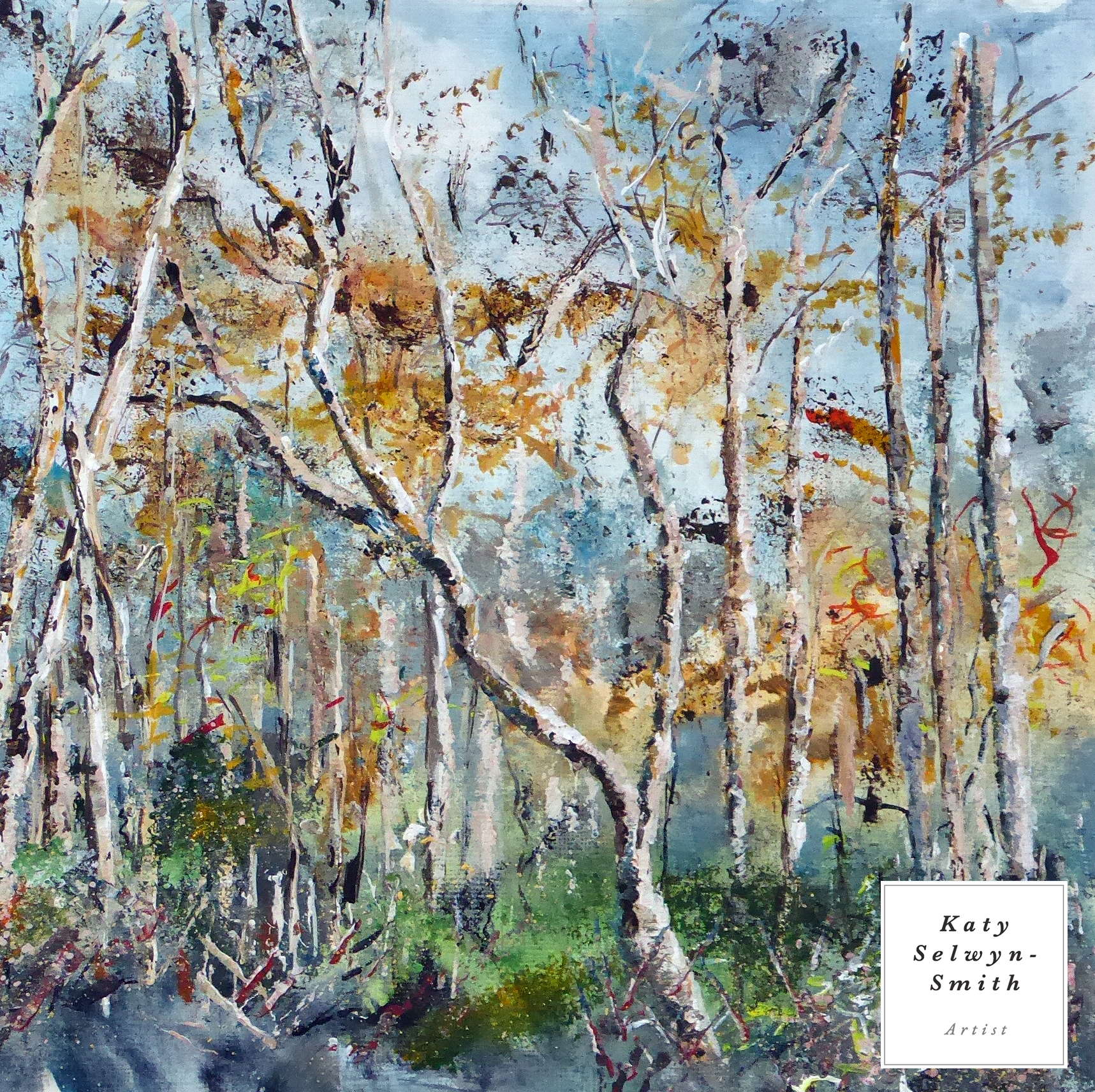 Thursley Winter Birches