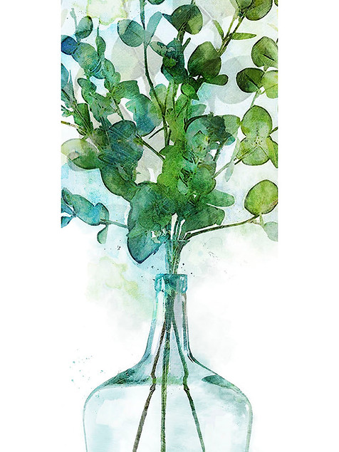Watercolor Leafs