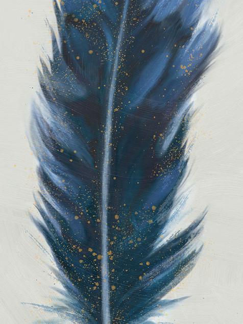 Trendy Feather Indigo