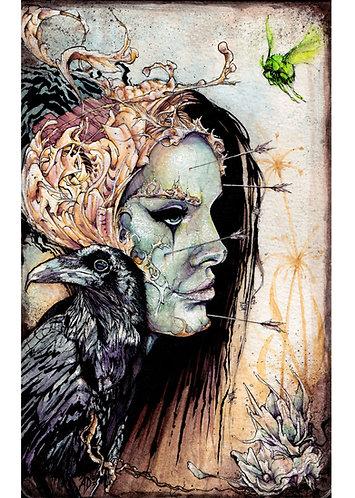 The Rebirth, Original artwork by Alex Dakos