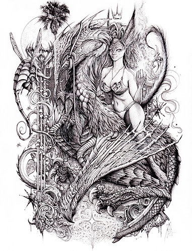 "Frame of Mind, 8x10"" or 11x14"" High Quality Giclee art print by Alex Dakos"