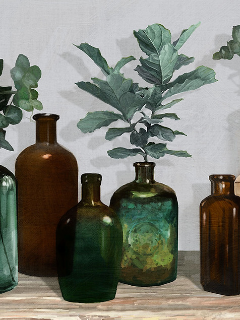 Bottled Plants