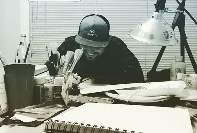 alex dakos at work