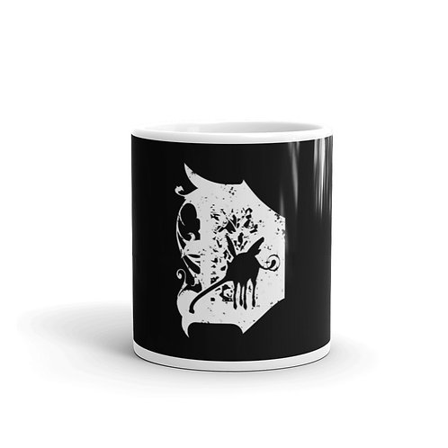 Dakos Emblem Black and White Mug