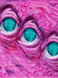 Sea Monster eyes