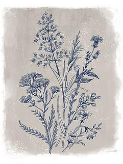 Brushed Botanical Tan