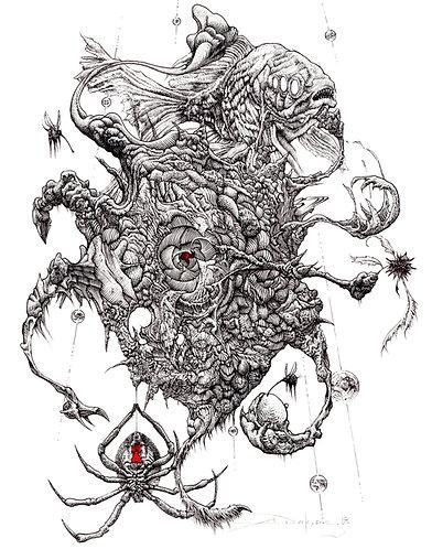 "Origins, 8x10"" or 11x14"" High Quality Giclee art print by Alex Dakos"