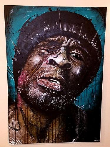 Vagabundo, pintura original de Alex Dakos