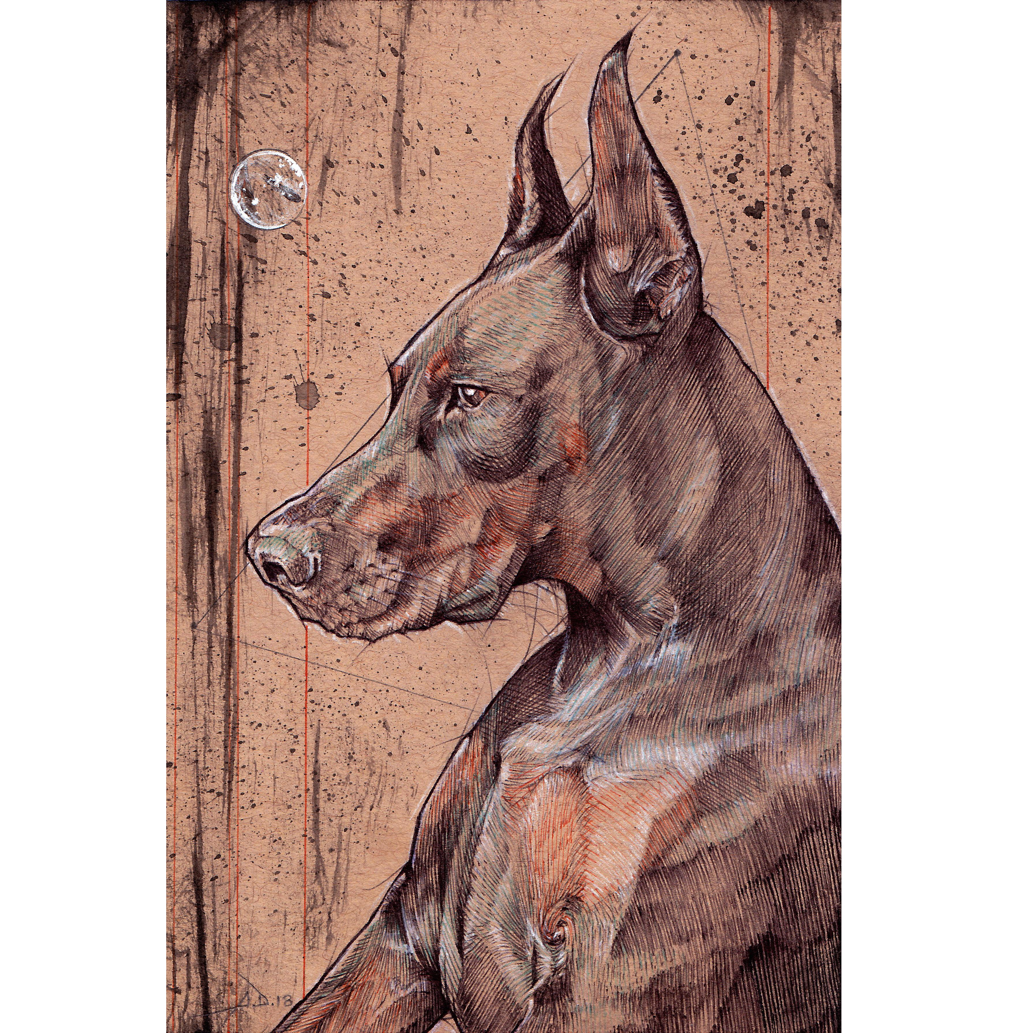 Pet Portrait Drawing Keepsake