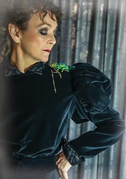 Hilary Tones as Sarah Bernhardt