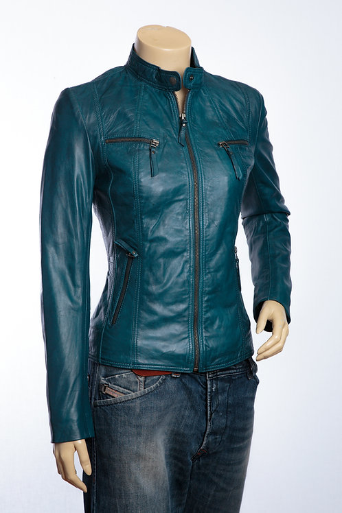 Charly Ladies Leather Jacket