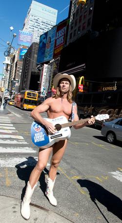 Naked Cowboy, New York