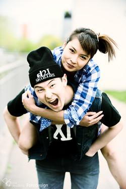 Hany und Masahiro