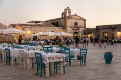 Abenddämmerung; Marzamemi, Sizilien