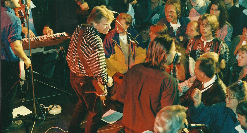 The Refreshments med Dave Edmunds