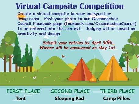 Virtual Campsite Competition