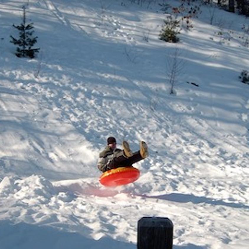 Skiing and Tubing